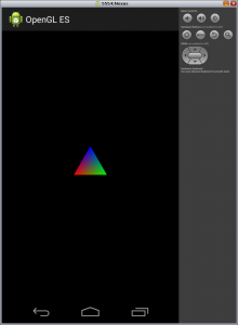 colored triangle