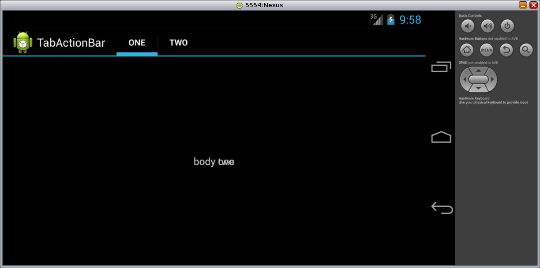 ActionBar, Fragment and screen rotationActionBar, Fragment e